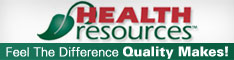 Health Resources Supplements banner